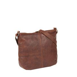 Justified Bags® Nynke Round Schoudertas Bruin