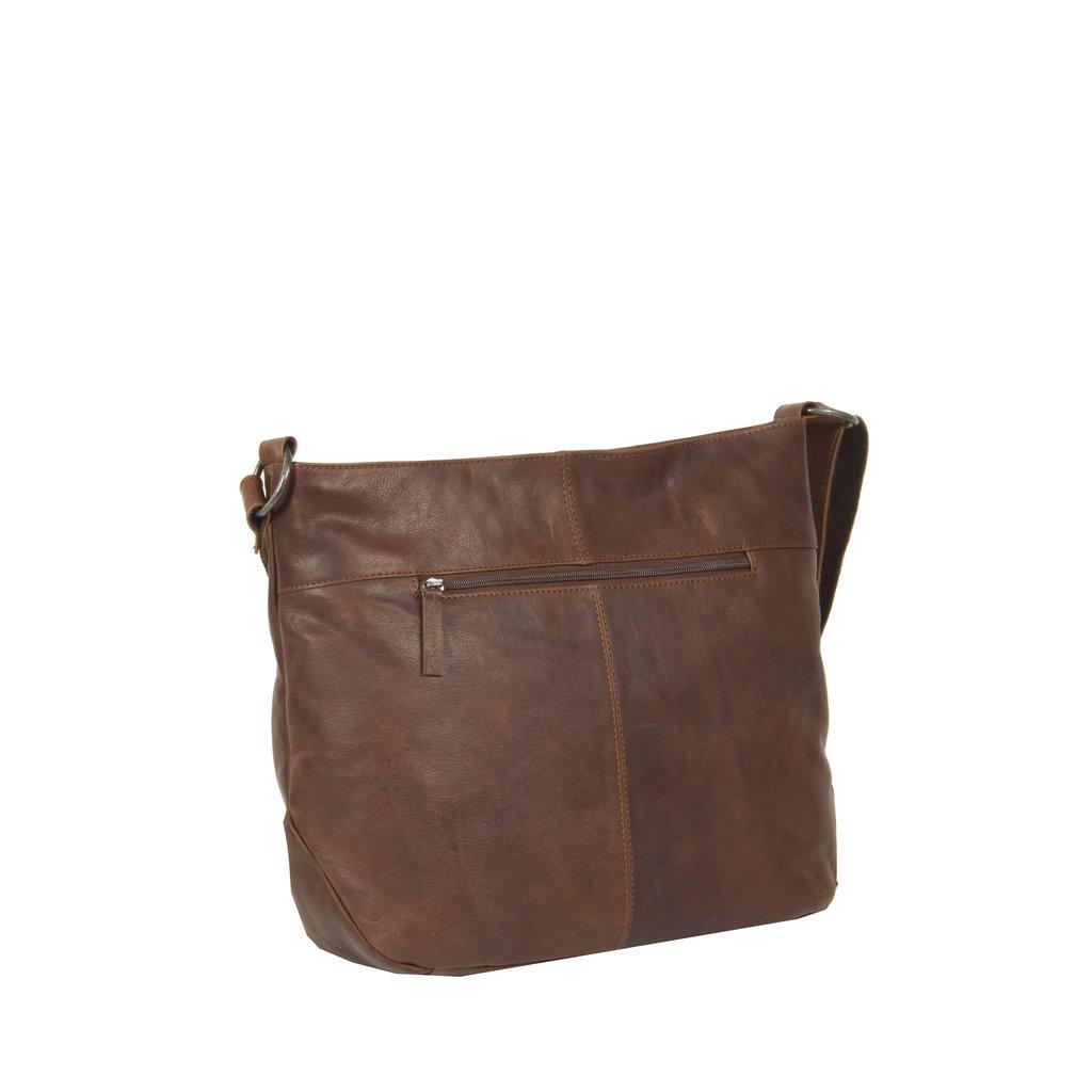Justified Bags® Nynke Round Shoulderbag Brown