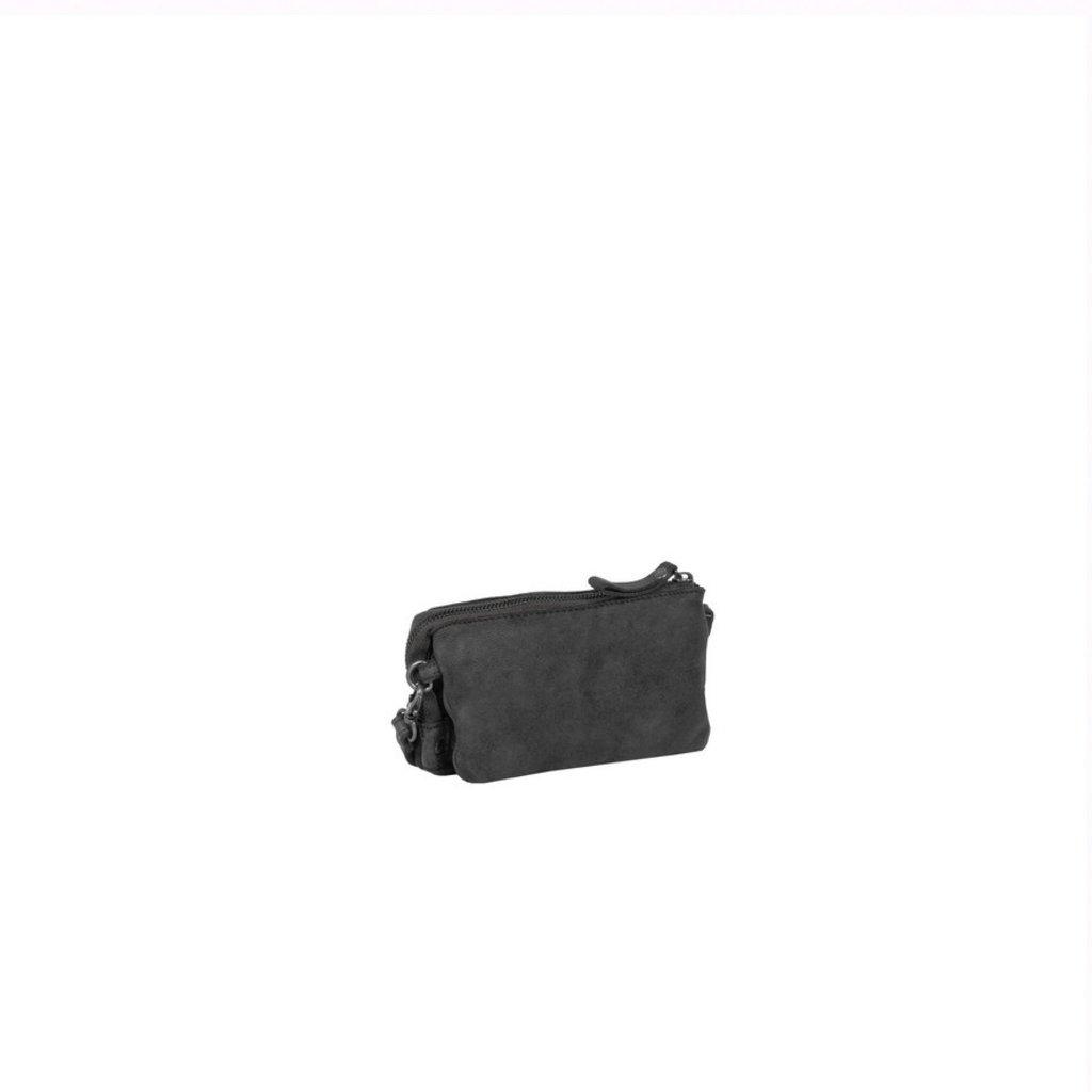 Simone 3 Compartimenten Shoulderbag Black II