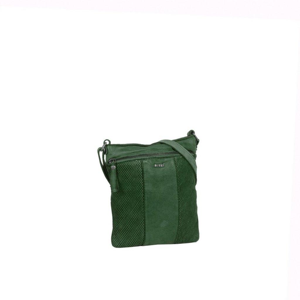 Simone Shoulderbag Dark Green Large IV