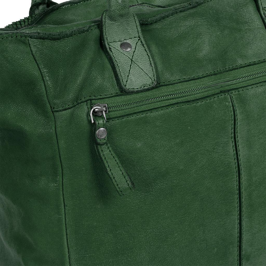 Simone Shopper Dark Green V