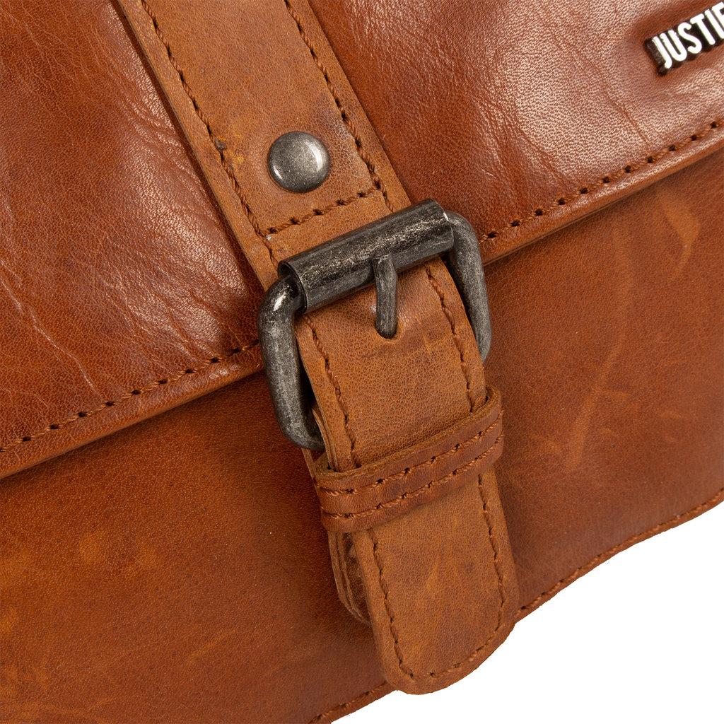 Justified Bags®  Nynke Schoudertas Cognac