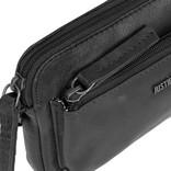 Justified Bags® Nynke Small Front Pocket Shoulderbag Black