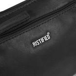 Justified Bags® Nynke Small Front Pocket Schoudertas Zwart