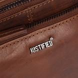 Justified Bags®  Nynke Medium Front Pocket  Schoudertas Bruin