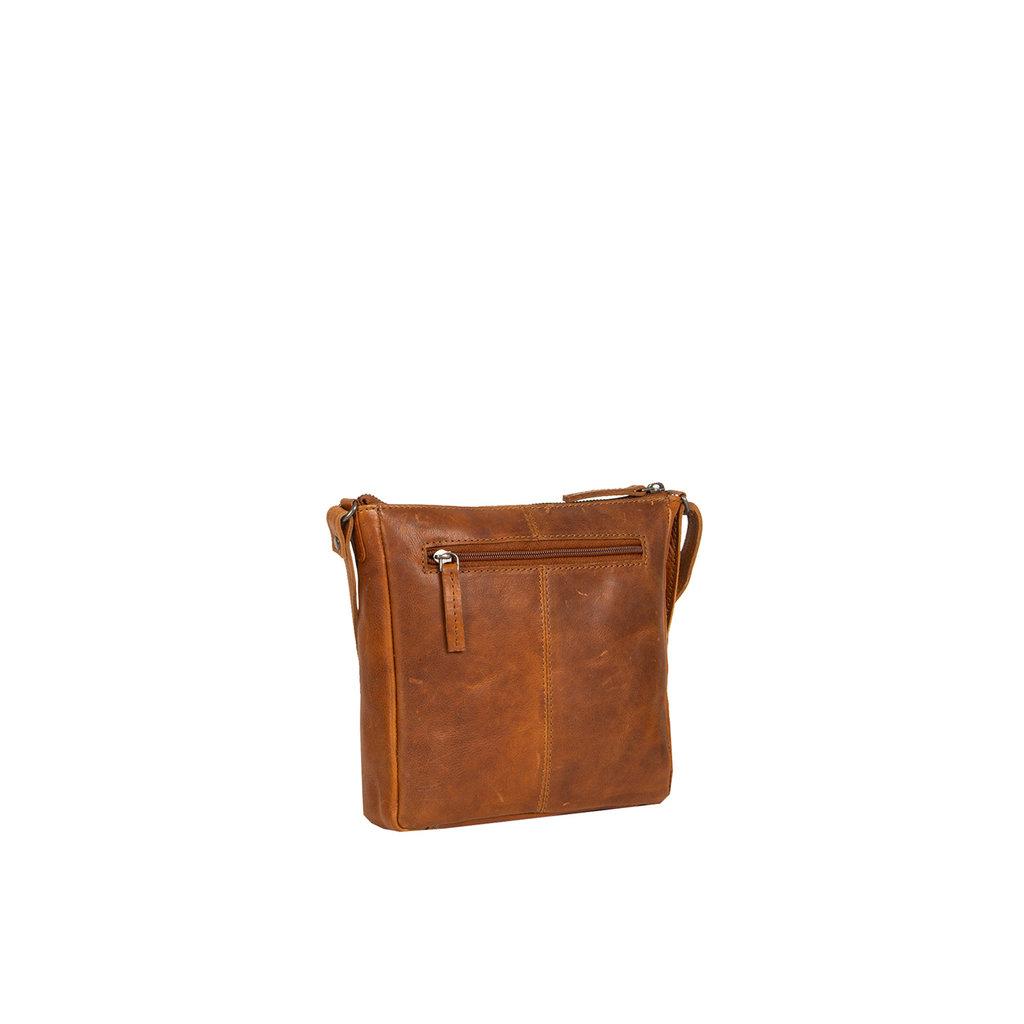 Justified Bags® Nynke Schoudertas Cognac Klein