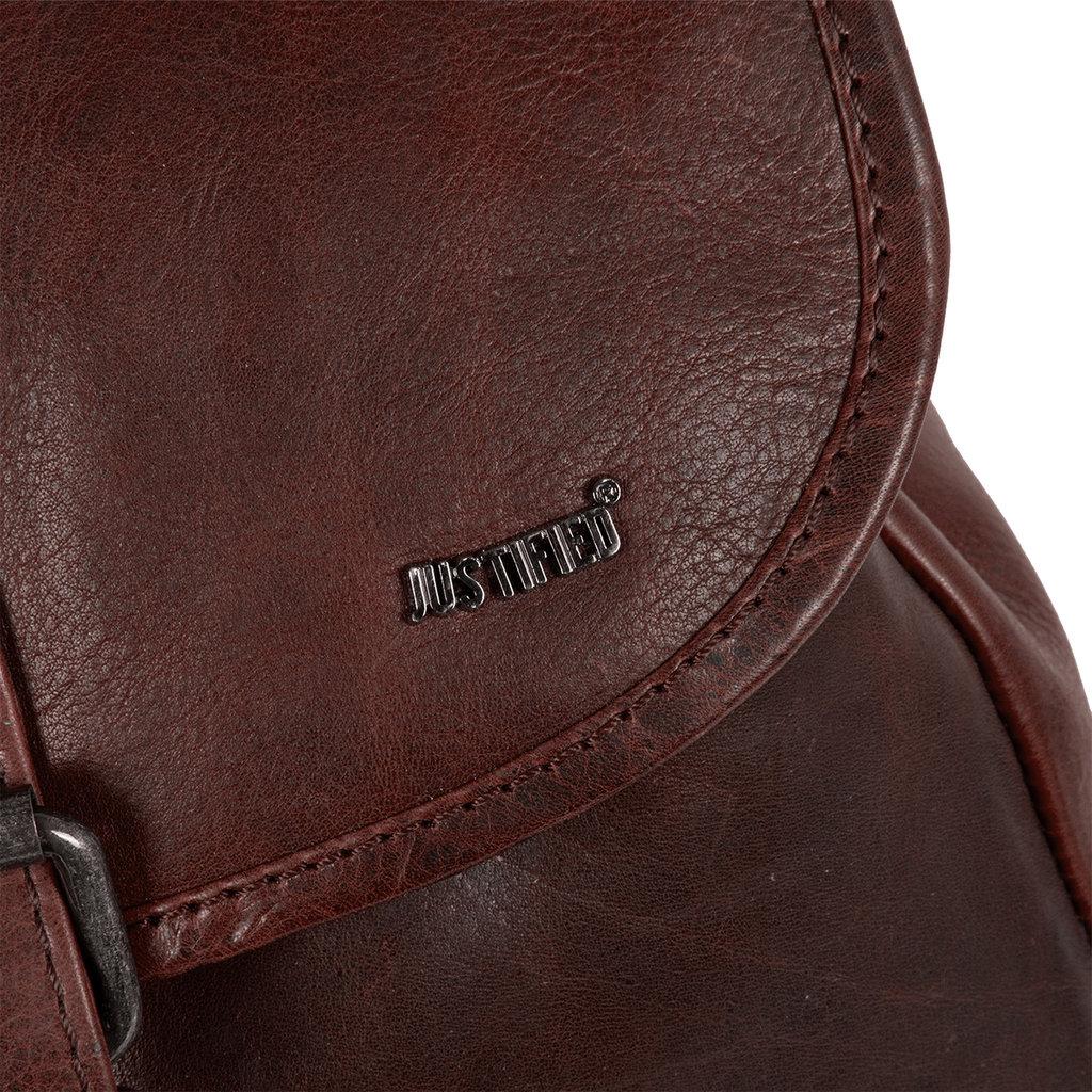 Justified Bags® Nynke Classic Backpack Bruin