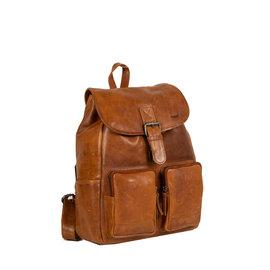 Justified Bags® Nynke Classic Backpack Cognac