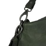 Saira Big Shoulderbag Tote Dark Green VII