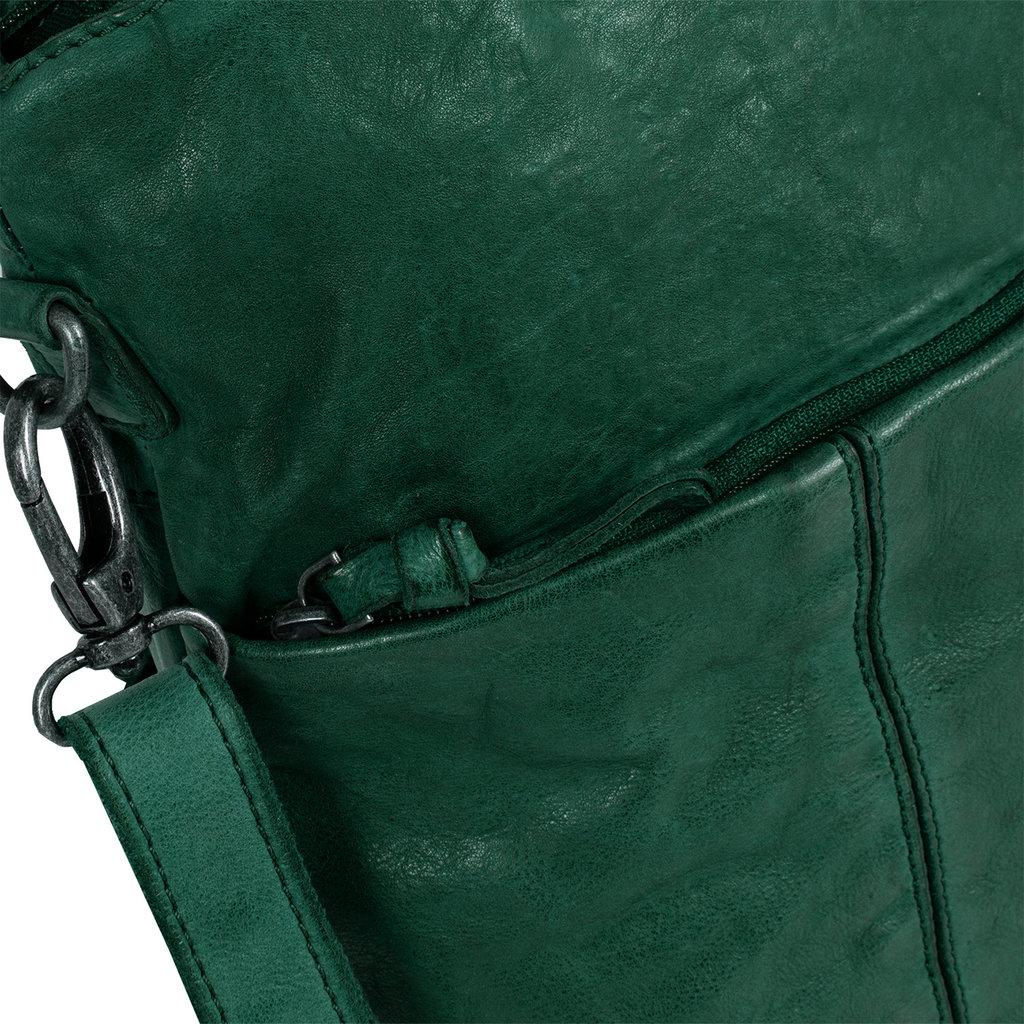 Saira Shopper Length Dark Green X