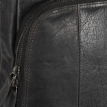 Justified Everest Leren Laptop Backpack Black