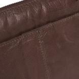 Belukha Small Top Zip Front Pocket Shoulderbag Brown