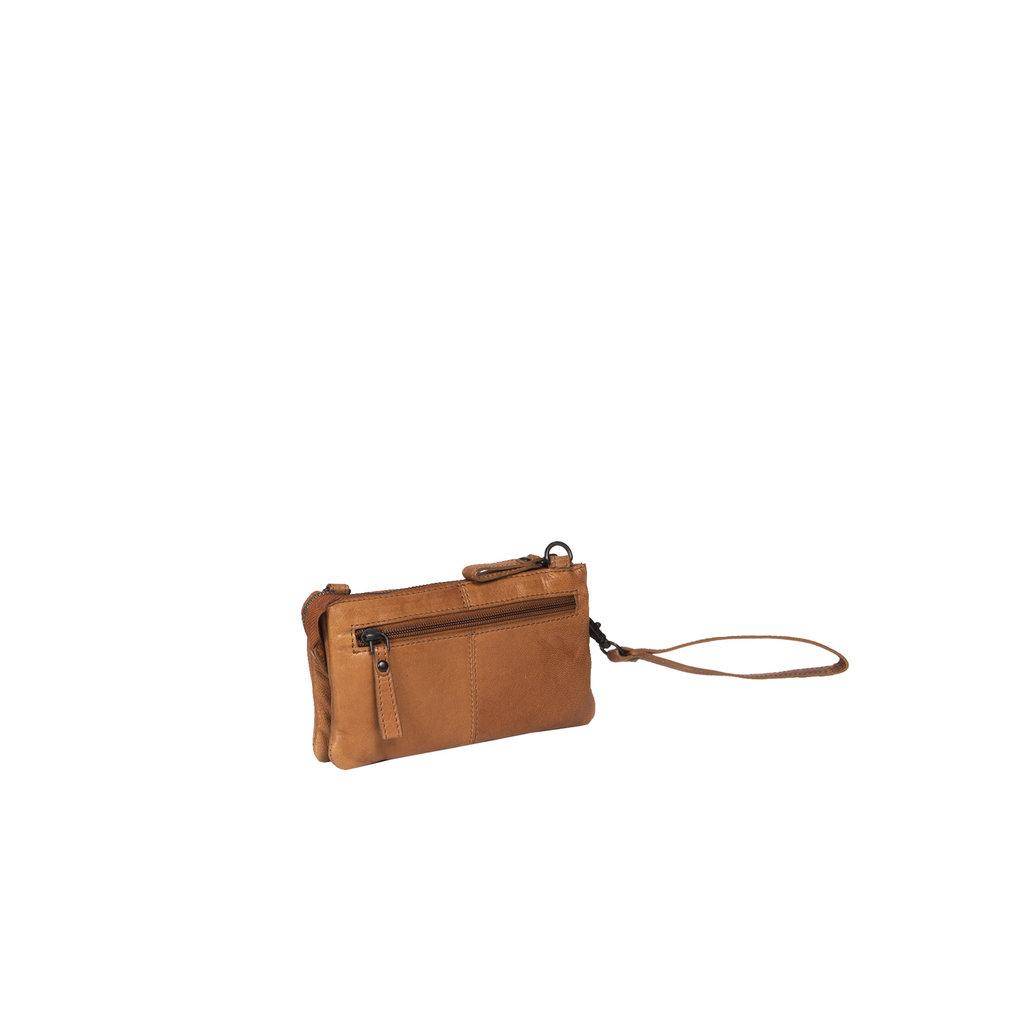 Belukha Small 2 Pocket Shoulderbag Cognac