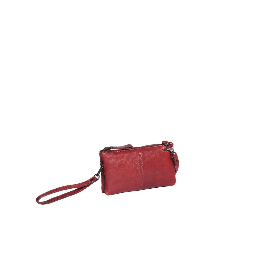 Belukha Small 2 Pocket Shoulderbag Burgundy