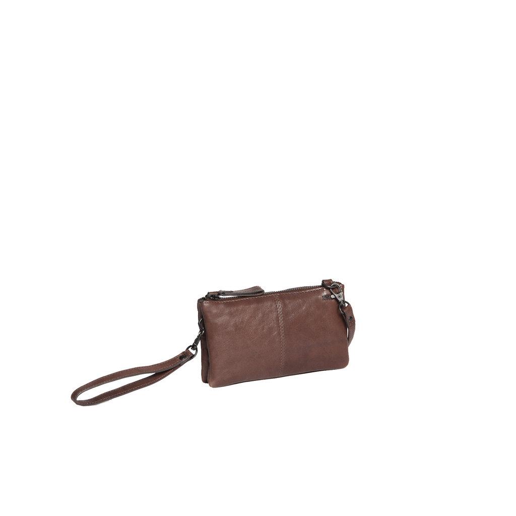 Belukha Small 2 Pocket Shoulderbag Brown