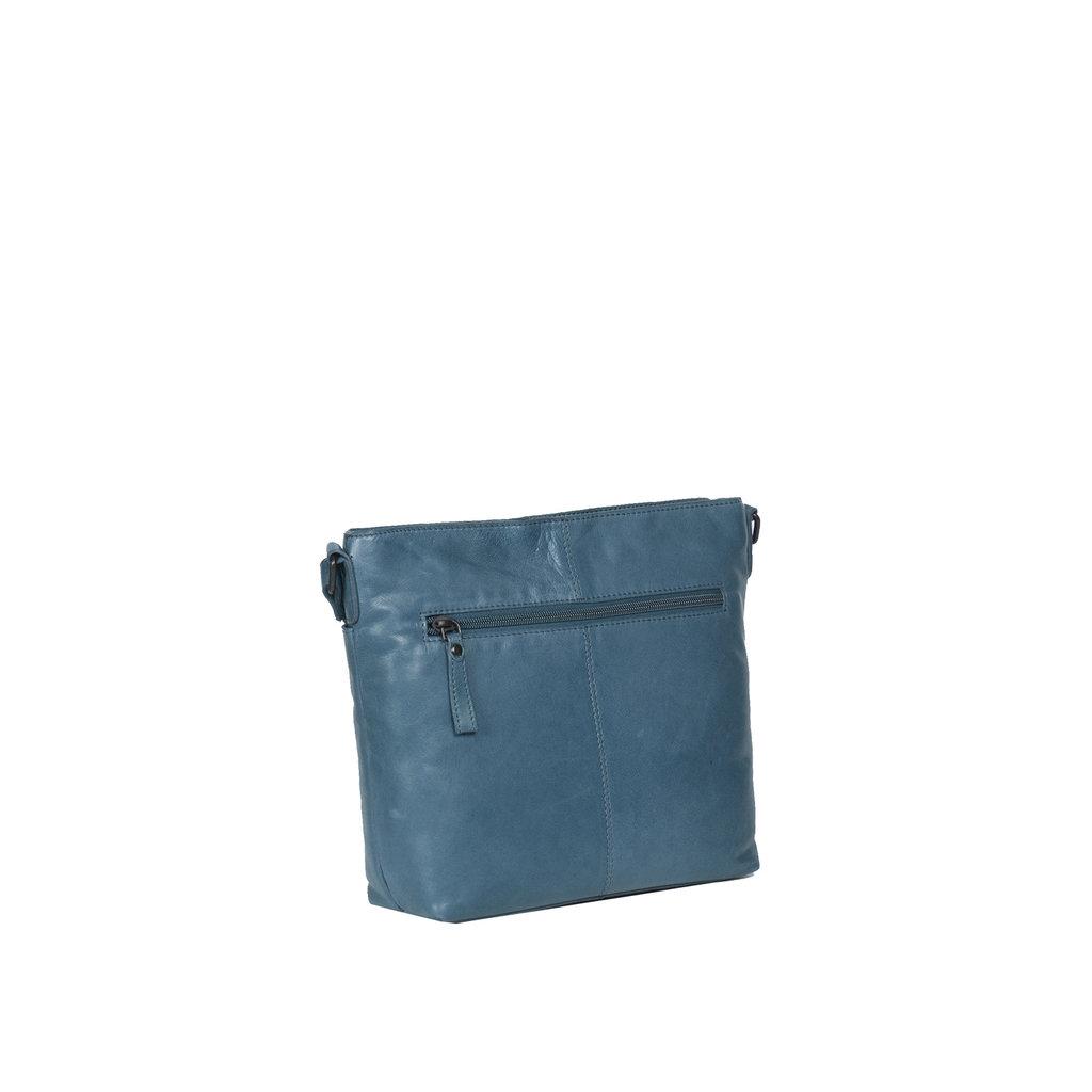 Belukha Medium Top Zip Shoulderbag Ocean Blue