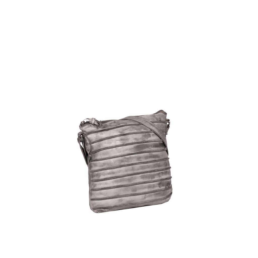 Batura Top Zip Grey