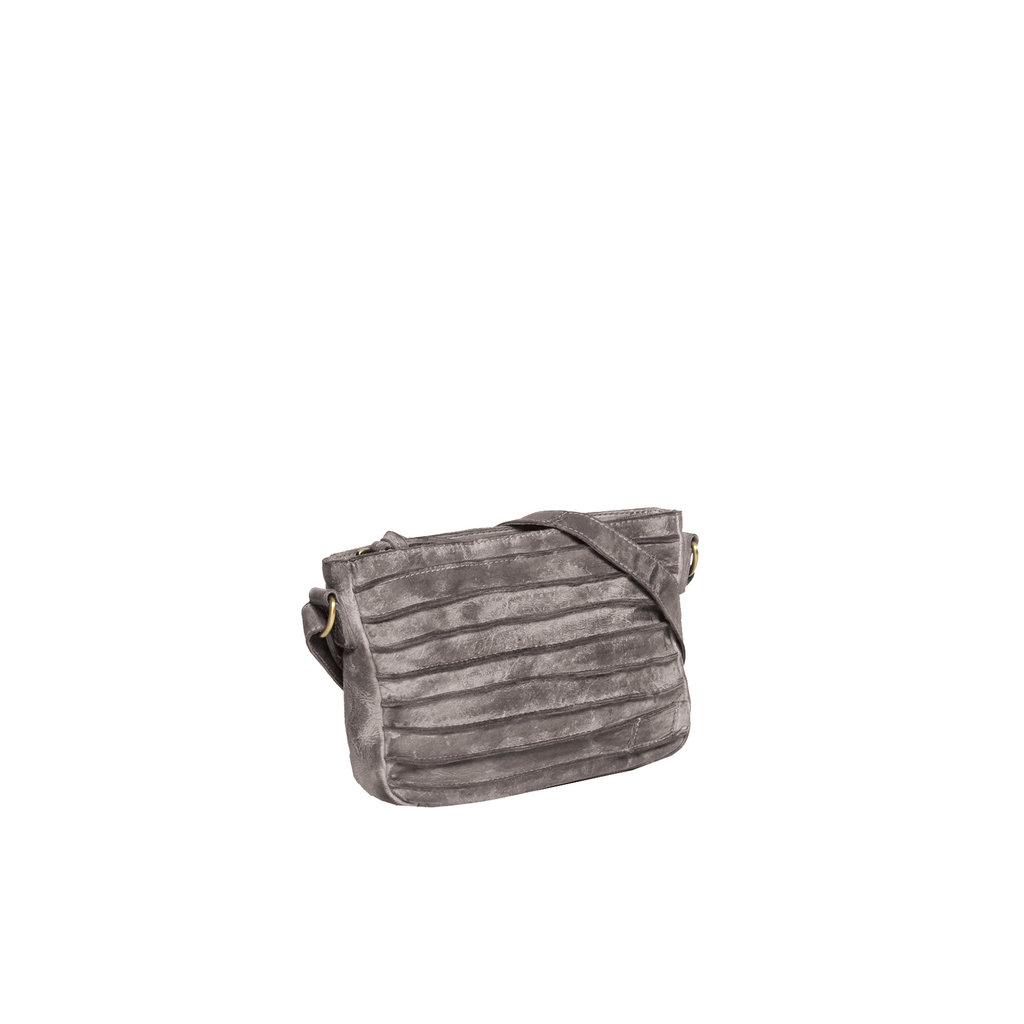 Batura Long Top Zip Grey