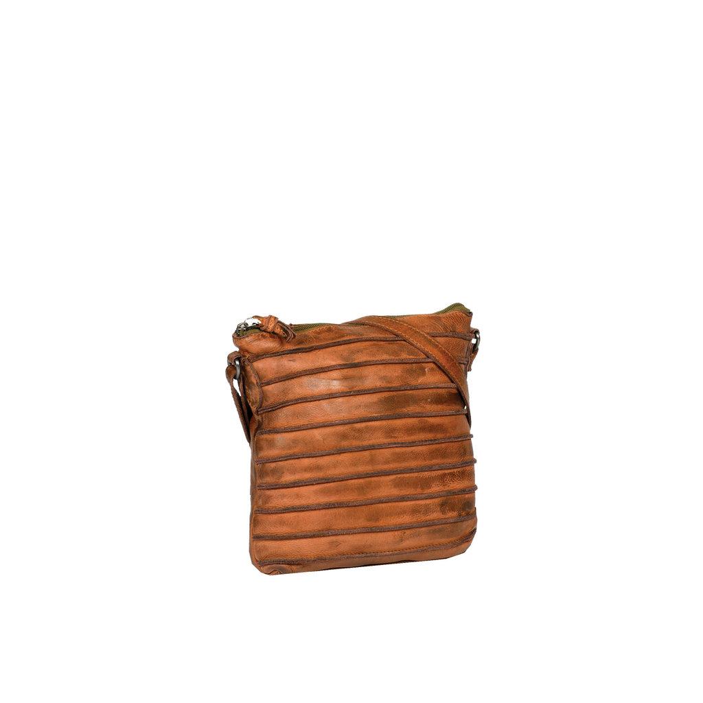 Batura Top Zip Cognac
