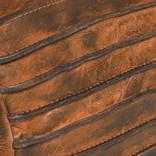 Batura Long Top Zip Cognac