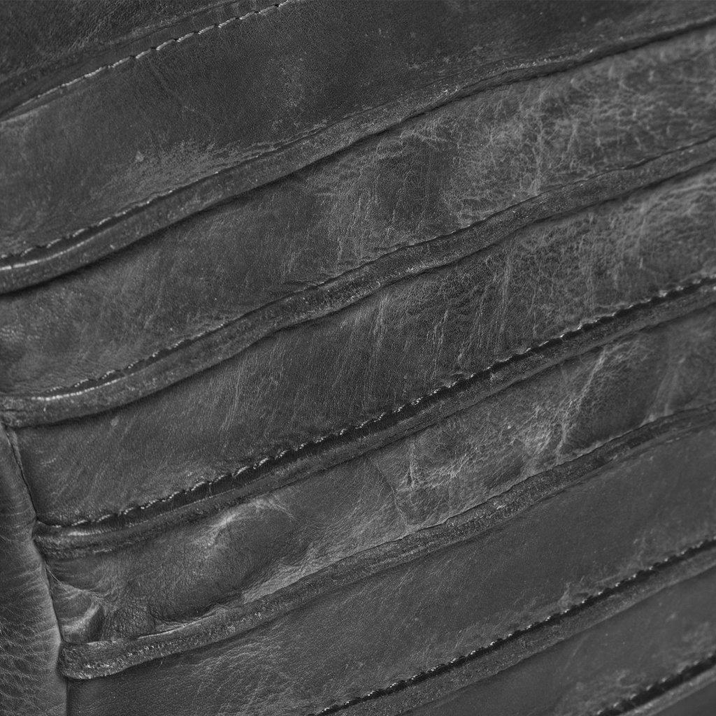 Batura Long Top Zip Black
