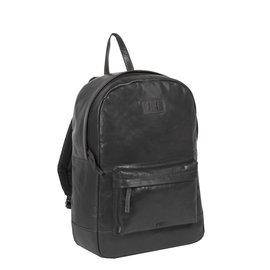 Justified Bags® - Titan - Rugzak - Rugtas - 23L - Leer - Zwart