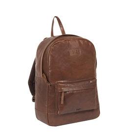 Justified Bags® - Titan - Rugzak - Rugtas - 23L - Leer - Cognac