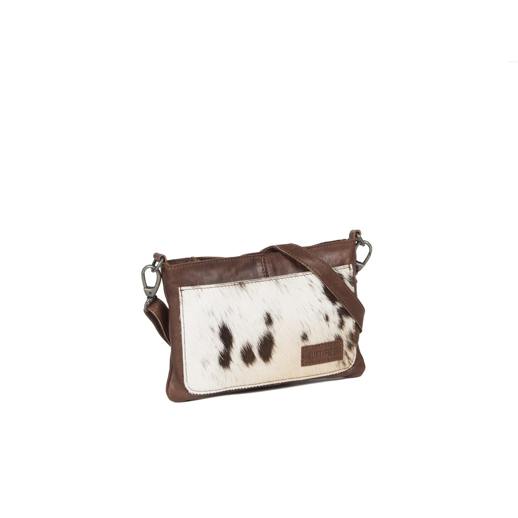 Cow Evening Bag Brown