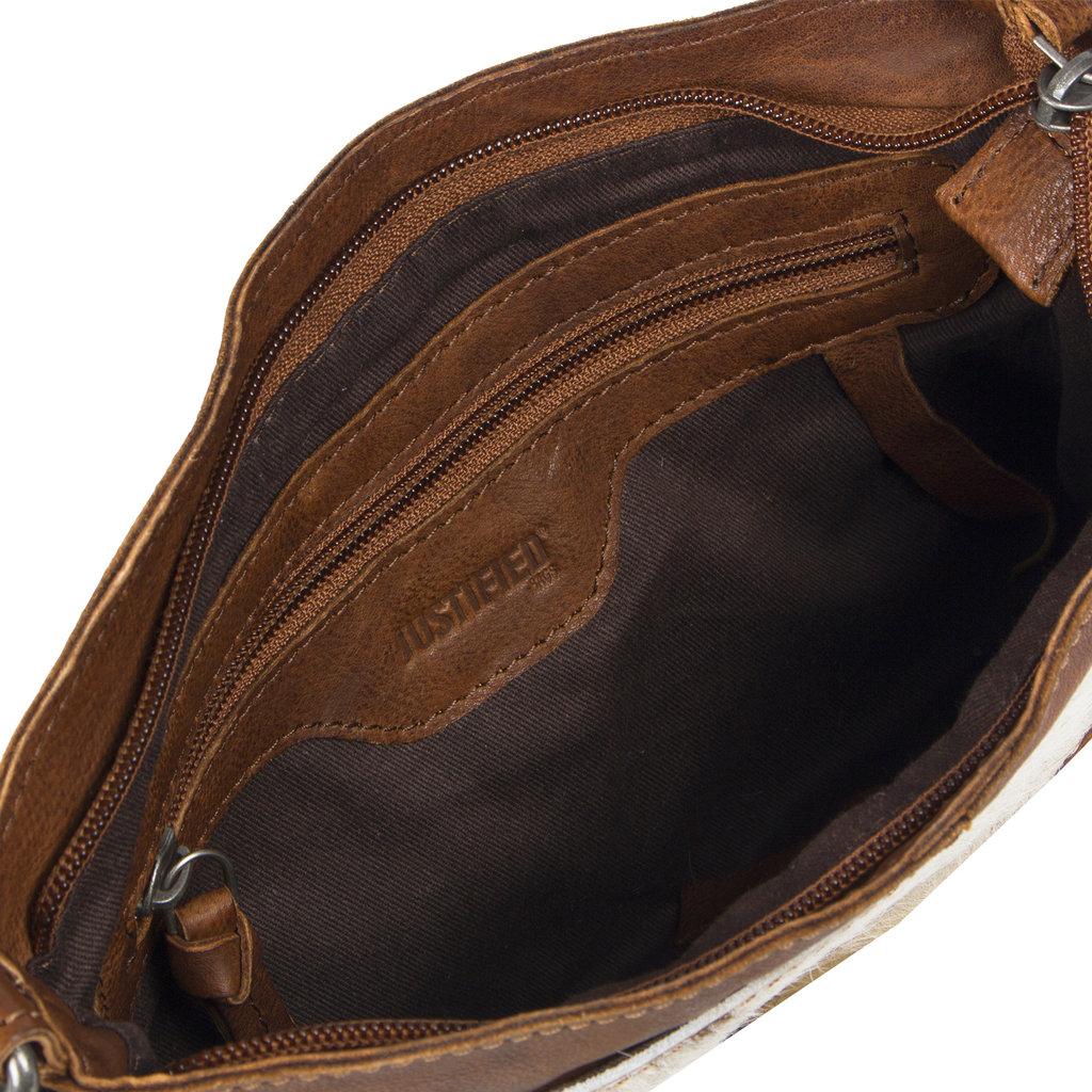 Cow Evening Bag Cognac