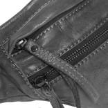 Justified Bags® - Sakura - Heuptas - Fanny Pack - Multifunctioneel -  Leer - Zwart