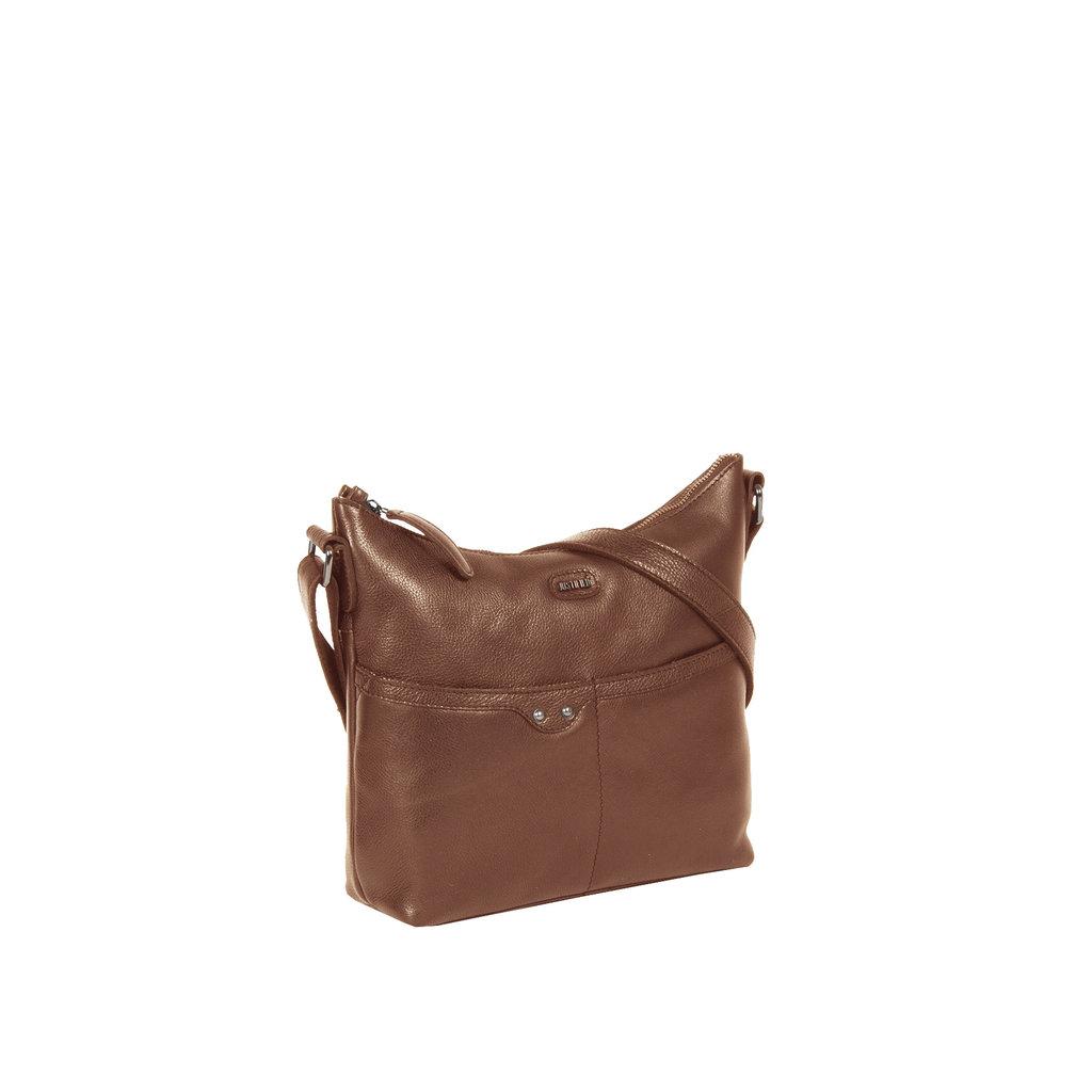 Justified Bags® Brugge Shoulderbag Cognac