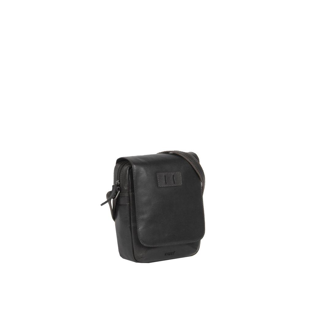 Justified Bags® Titan Small Flapover Black