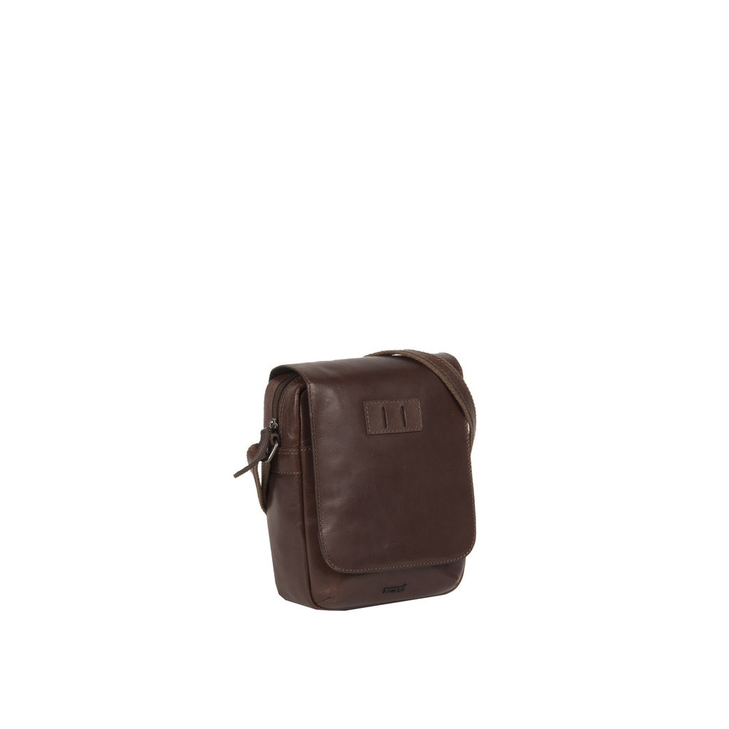 Justified Bags® Titan Small Flapover Brown