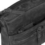 Justified Bags® Roma Longshape Top Zip Black