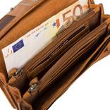Roma Wallet Cognac