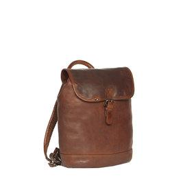 Justified Bags® Goa Lederen Backpack / Rugtas  Cognac