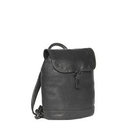 Justified Bags® Goa Lederen Backpack / Rugtas  Black