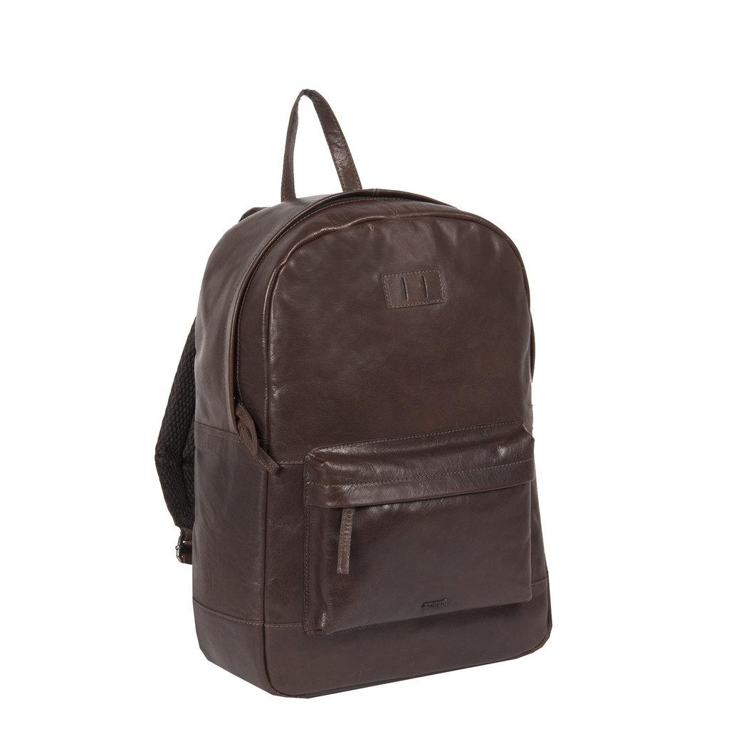 Justified Bags® - Titan - Rugzak - Rugtas - 23L - Leer - Bruin