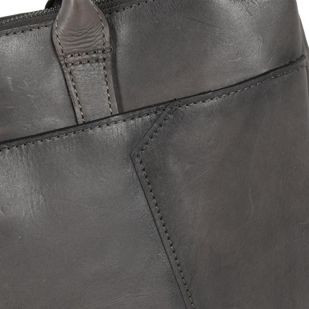 Pluto Flamed Business Bag Grey