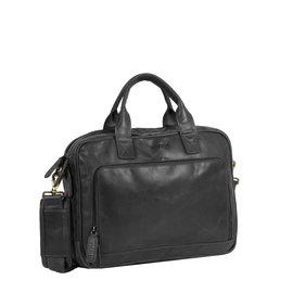 "Justified Bags Max 13"" laptop business bag Black"