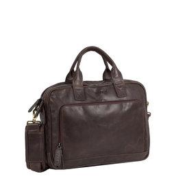 "Justified Bags Max  13"" laptop business bag Brown"