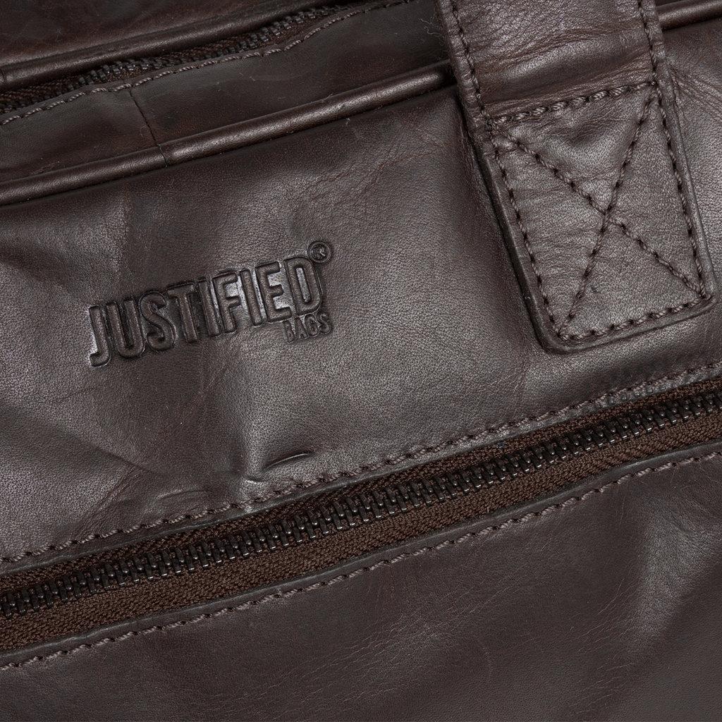 "Justified Bags Max  13"" Laptop Bag Brown"