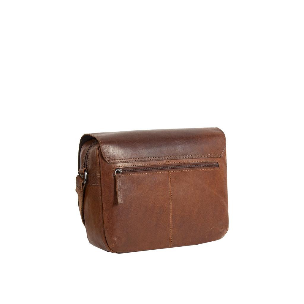 Justified Bags® Titan Medium Flapover Cognac
