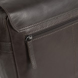 Justified Bags® Titan Medium Flapover Brown