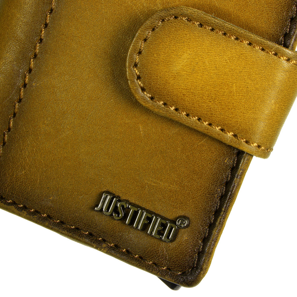 Burned Leather  Creditcard Holder Coinpocket + Box Occur
