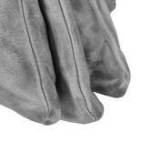 Roma 3 Compartimenten Top Zip Grey