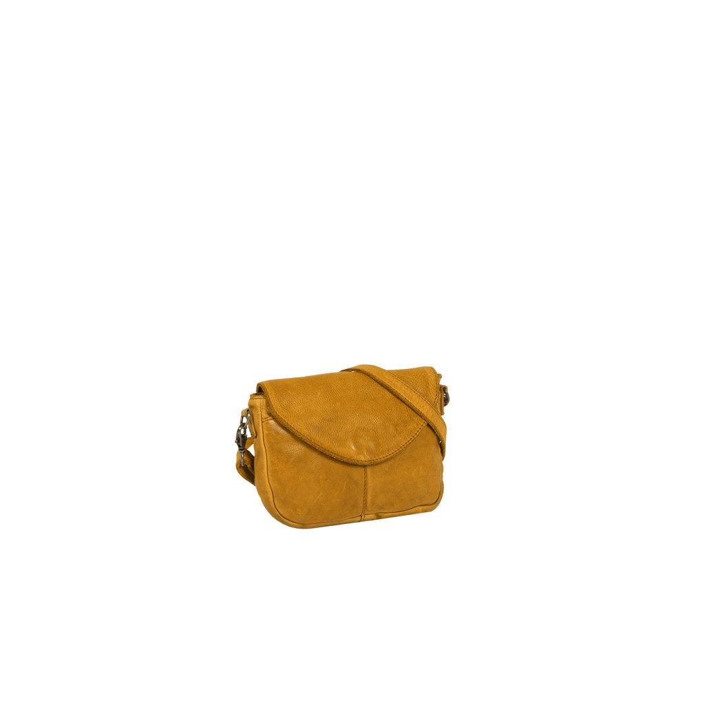 Justified Bags® Saira - Shoulder bag - Crossbody bag - Flapover - 19x3x14cm - Occur