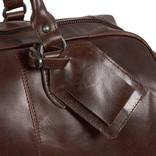 Justified Bags® - Mantan Duffel - Weekendtas - Reistas - 44L - Leer - Bruin