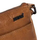 Belukha Small Top Zip Front Pocket Shoulderbag  Cognac