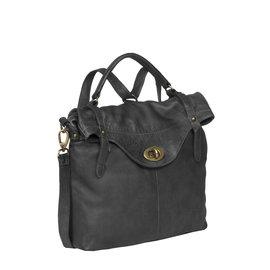 Justified Bags® Sakura - Handbag - Shopper - Backpack - Black
